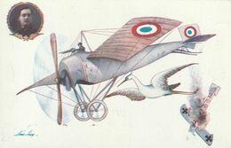 Sager - La Cigogne - Avion Militaire Français Abattant Avion Allemand - Sager, Xavier