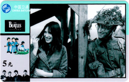 The Beatles : Télécarte Prépayée (Chine) John Lennon - Musik