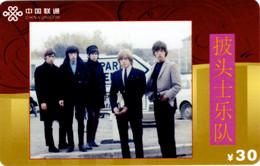 The Rolling Stones ? : Télécarte Prépayée (Chine) - Musica