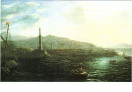 CPM 75 Paris - Musée Du Louvre. Le Port De Gênes, Vu De La Mer Par Claude Gellée Dit Le Lorrain TBE - Pittura & Quadri