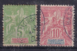 Guadeloupe Col Francaise YT*+° 40-44 - Gebraucht