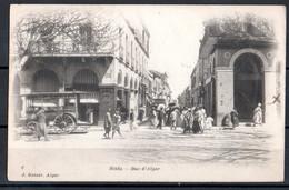 Algérie - Blida - Rue D'Alger Animée - Métiers
