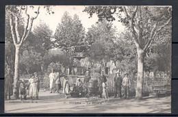 Algérie - Medea - Le Square Animée - Enfants Et Pousette - Métiers