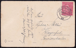 "Kingdom Of Yugoslavia, 1933, Picture Postcard, Railway TPO Cancellation ""Maribor - Prevalje, 82"" - Cartas"