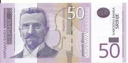 SERBIE 50 DINARA 2011 UNC P 56 A - Serbia