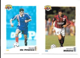 CV07 - CARTES PANINI FOOTBALL 1996 - ZINEDINE ZIDANE - Trading Cards