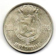 BELGIUM, 100 Francs, Silver, Year 1950, KM #138.1, BELGIQUE - 06. 100 Francs