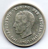 BELGIUM, 250 Francs, Silver, Year 1976, KM #158.1, DER BELGEN - 10. 250 Frank