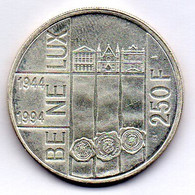BELGIUM, 250 Francs, Silver, Year 1994, KM #195 - 07. 250 Frank