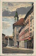 AK OLD POSTCARD - SLOVENIA  LJUBLJANA - LAIBACH - MESTNI TRG. - VIAGGIATA 1919 -  I10 - Slovenia
