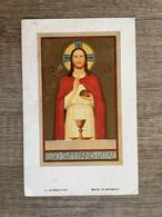 Communie - Jozef ZWAENEPOEL - 1933 - Sint-Lodewijkscollege - BRUGGE - Communion