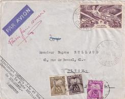 ORIGINE CAMEROUN - 1946 - 1859-1955 Lettres & Documents