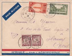 ORIGINE MAROC - 1932 - 1859-1955 Lettres & Documents
