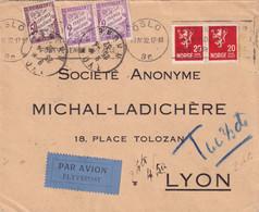 ORIGINE NORVEGE - 1932 - 1859-1955 Lettres & Documents