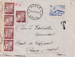 ORIGINE BELGIQUE - 1941 - 1859-1955 Lettres & Documents