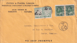 ORIGINE CANADA - 1926 - 1859-1955 Lettres & Documents