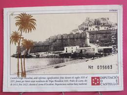 Espagne - Castell De Peníscola - Diputació De Castelló - R/verso - Castellón