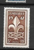 France: N°787** Emblème Scout - Unused Stamps