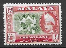 Trengganu Malaysia Mnh ** 1957 22 Euros - Trengganu