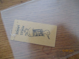 Tac Perles De Lavage Canard Ticket  Metro - Europa