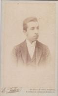 Photo CDV Orne Flers Portrait De Paul Fortin Photo Aristide Ghezzi Flers  Réf 9781 - Identified Persons