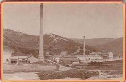 PHOTO CARTONNÉE (16x11 Cm) BESANÇON (25) USINE ANNÉE 1898 - Other