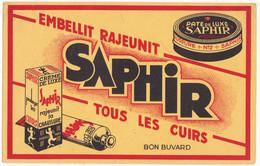 Buvard Crème SAPHIR Pour Cuirs, Chaussures, TBE - Wash & Clean