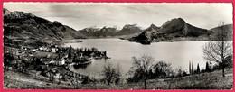CPSM Panoramique 74 LAC D'ANNECY Haute-Savoie : Talloires, La Sambuy, L'Arcalod, Le Charbon, Le Roc Des Boeufs... - Annecy