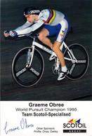 CYCLISME: CYCLISTE : GRAEME OBREE - Cycling