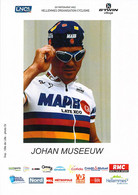 CYCLISME: CYCLISTE : JOHAN MUSSEUW - Cycling