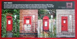 Postboxes (Mi 2782-2785 Block 52) 2009 POSTFRIS MNH ** ENGLAND GRANDE-BRETAGNE GB GREAT BRITAIN - Nuovi
