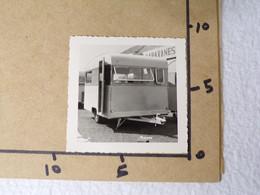 G4/ Photo Ancienne - Caravane - Cars