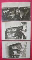 66   Font-Romeu Ou Environs 3 Carte Photos Le Chalet De Tonton Cerdagne Dos Scanné éditeur Goudin Pour 1 - Other Municipalities