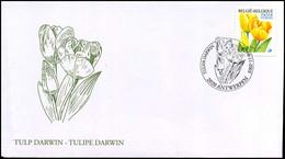 3223a - FDC - Gele Tulp - 1985-.. Vogels (Buzin)