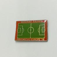 UEFA European Football Championship 1976 YUGOSLAVIA, Soccer, Calcio, Fussball, Vintage Pin, Badge - Calcio