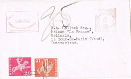 41690. Carta TAXE, Tasada En TOUR DE PEILZ (Vaud) Suisse 1966, Remitida De London, England - Briefe U. Dokumente
