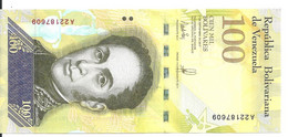VENEZUELA 100000 BOLIVARES  2017 UNC P 100 - Venezuela