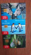 Animals 3 Phonecards  Rare - Altri
