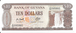 GUYANE 10 DOLLARS  ND1992 UNC P 23 F - Guyana