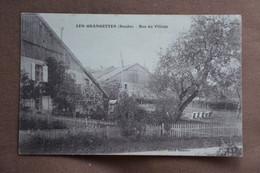 Les GRANGETTES-bas Du Village-tres Rare Carte - Andere Gemeenten