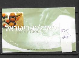 2000 MNH Israel Booklet Mi 1563-65 - Markenheftchen