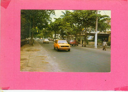 CP.  PORT  GENTIL.  RUE  DU  CENTRE. - Gabon