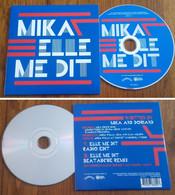 """TRES RARE Cd Single MIKA  """" Elle Me Dit """" 2 Versions 2011 Neuf Mint - Edizioni Limitate"""