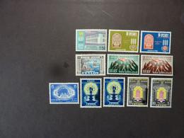 CEYLON Dominion, Années 1957-63, YT N° 305 à 308 + 313 Et 314 + 329 Et 330 + 338 Et 339 + 388 Neufs MH* - Sri Lanka (Ceylon) (1948-...)