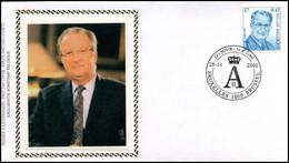 2963 - FDC Zijde - Koning Albert II #3 - 1991-00