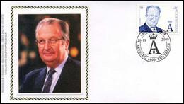 2964 - FDC Zijde - Koning Albert II #1 - 1991-00