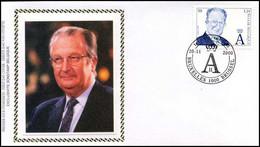 2964 - FDC Zijde - Koning Albert II #2 - 1991-00