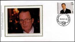 2984 - FDC Zijde - Koning Albert II #2 - 2001-10