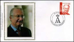 3208 - FDC Zijde - Koning Albert II #4 - 2001-10