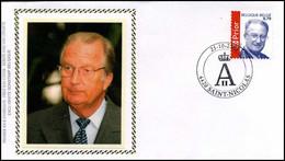 3209 - FDC Zijde - Koning Albert II #3 - 2001-10